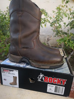 Brand new rocky soft toe work boots 9 for Sale in Riverside, CA