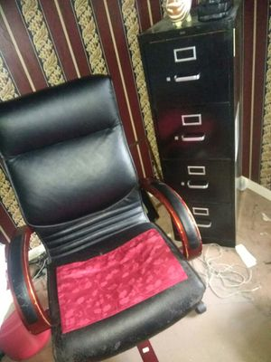 File Cabinet Chair for Sale in St. Louis, MO