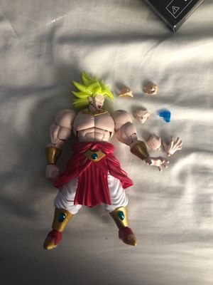Dragon ball z figure-rise broly for Sale in Fresno, CA