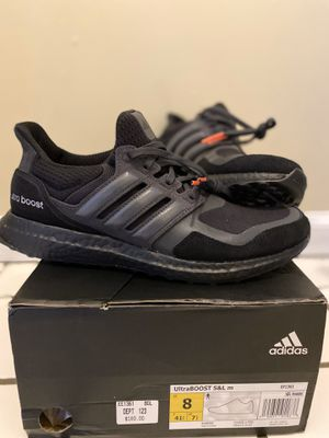 Adidas ultraboost black men size 8 for Sale in Pittsburgh, PA