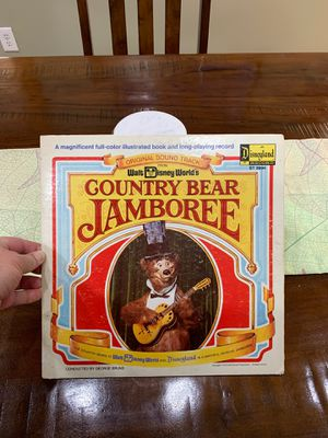 Disney Country Bear Jamboree vinyl for Sale in Peoria, AZ