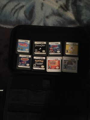 Nintendo 3ds with 8 games for Sale in Anaheim, CA