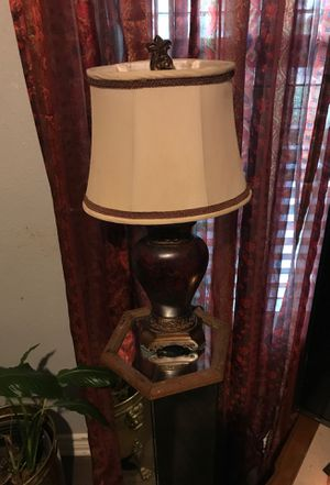 Smaller lamp with shade for Sale in San Antonio, TX
