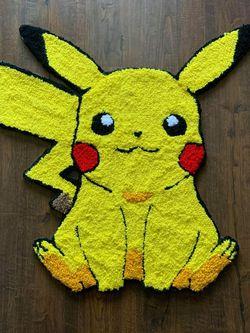 Tufted Pikachu Rug for Sale in Reynoldsburg,  OH