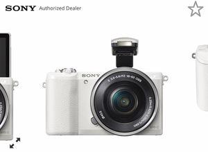 Sony A5100 vlogging camera for Sale in Richmond, VA