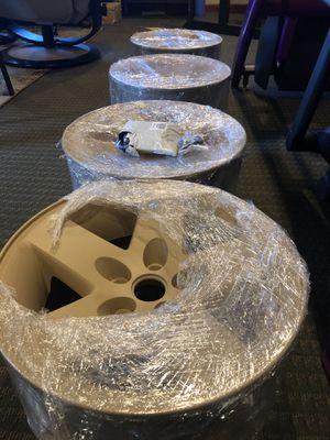 "Jeep Rubicon Wheels Pre 06 5 on 4.5 16"" Fresh Powder Coat Desert Tan - $350 (Snohomish) for Sale in Marysville, WA"