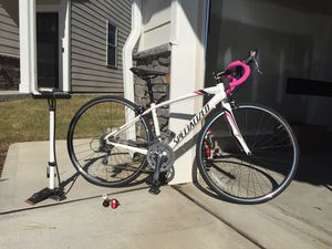 Women's Specialized Dolce C2 (48cm, 2013 model) w/accessories for Sale in New Hill, NC