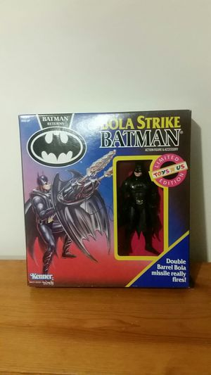Bola strike Batman limited edition action figure for Sale in Baltimore, MD