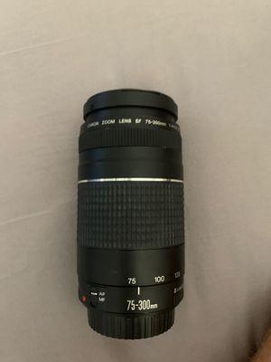 Canon EF 75-300mm lense for Sale in Chandler, AZ