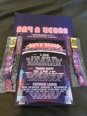 Day N Vegas Two GA Tickets/Wristbands for Sale in Las Vegas, NV