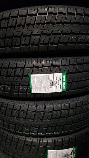 Trailer tires 235 80 r 16 for Sale in Baldwin Park, CA