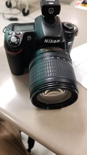 Nikon D80 with 18-105 mm lense for Sale in Houston, TX