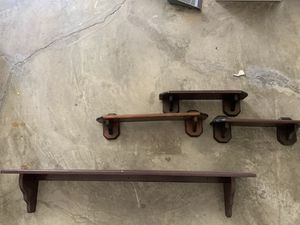 Wall shelves (4) for Sale in Carlsbad, CA