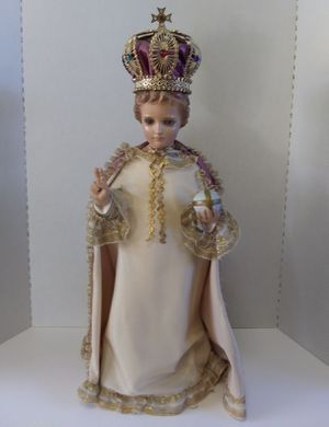Vintage Baby Jesus - The King Statue for Sale in Saint Michael, PA