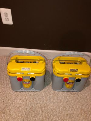 Optima Yellow Top Batteries for Sale in Silver Spring, MD