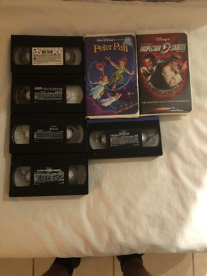 Classic Disney VHS movies for Sale in Miami, FL