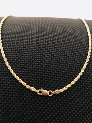 10k Yellow gold rope chain for Sale in Frederick, MD
