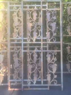 Iron Bench & Arbor Porch Support Pieces NEED WELDER to Repair for Sale in Los Angeles,  CA