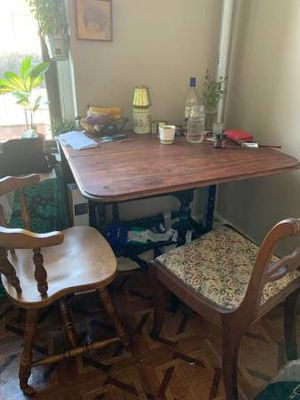3 leaf wooden table for Sale in Brooklyn, NY