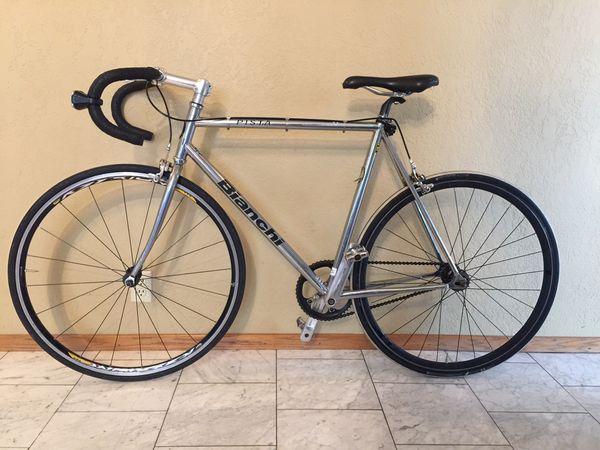 Bianchi Pista Chrome Fixie/fixed gear