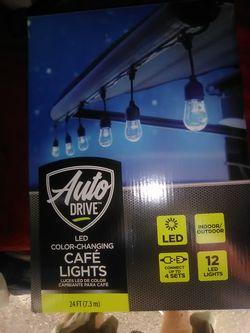 Decorative patio lights for Sale in Colorado Springs,  CO