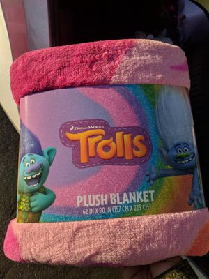 Trolls blanket for Sale in Los Angeles, CA