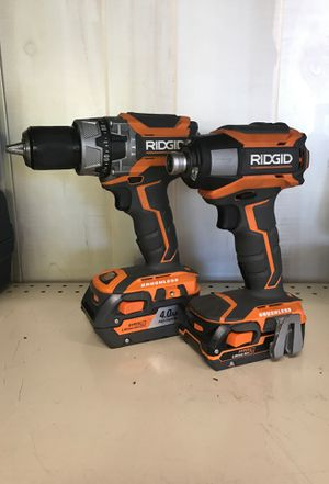 Ridgid cordless drill and impact driver for Sale in Port St. Lucie, FL