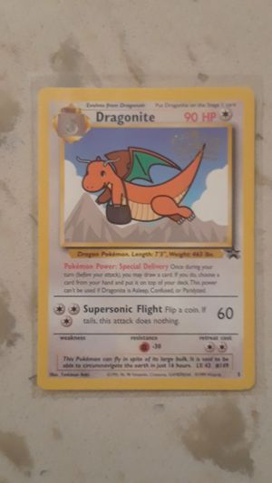 Dragonite Pokemon Card from the first Pokemon movie for Sale in Richmond, CA