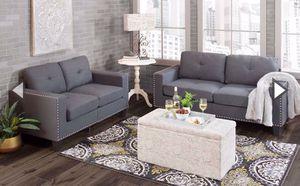 Modern grey sofa couches for Sale in Phoenix, AZ