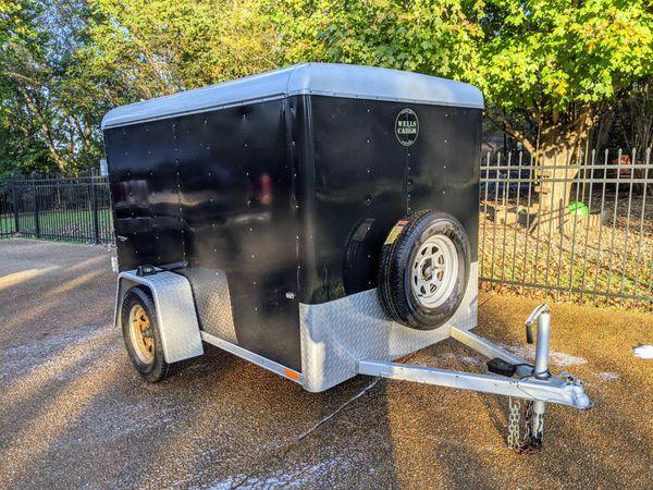 Wells Fargo enclosed trailer