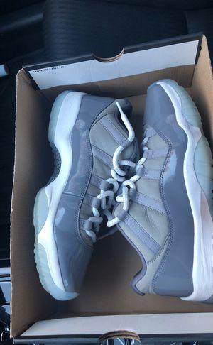 Cool grey Jordan 11 low size 9.5 for Sale in Hayward, CA