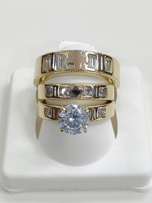 14k gold wedding ring made in Italy ( item#MR226) for Sale in Houston, TX