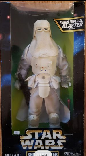 New Star Wars 12 Inch Snowtrooper Figure. for Sale in Apopka, FL
