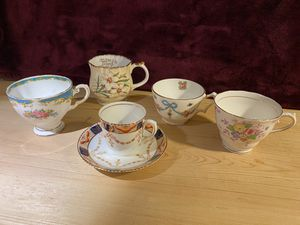 5 English Bone China Teacups for Sale in Beaverton, OR