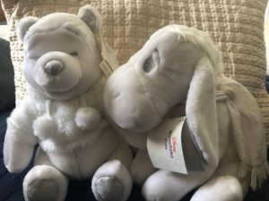 Disney Snowflake Pals- Pooh and Eeyore for Sale in Davis, CA