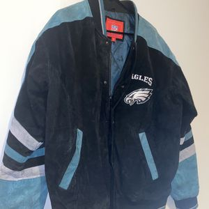 Eagles jacket size Large clean for Sale in Alexandria, VA