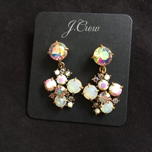 J. Crew Crystal and Gold Earrings for Sale for sale  Seattle, WA