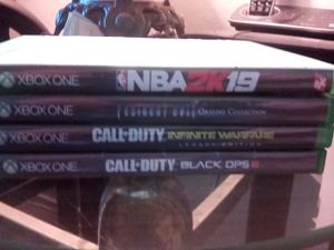 Xbox one games bundle for Sale in Hayward, CA