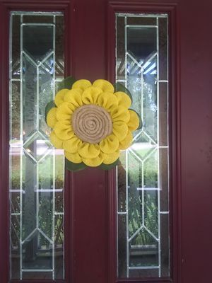 Sunflower wreath for Sale in Columbia, SC