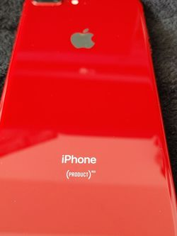 Unlocked IPhone 8 Plus 64GB Like New Condition Red for Sale in Miami,  FL