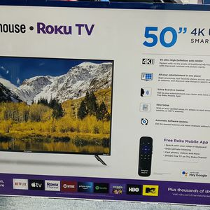Sealed 50 inches 4k Ultra HD TV For Sale for Sale in Beaverton, OR