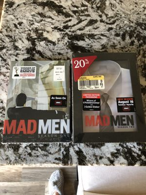 Mad Men Season 1 and 2 Unopened for Sale in Roseville, CA