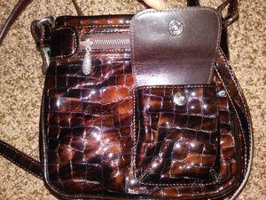 Brighton Croc Leather shoulder bag for Sale in Traverse City, MI