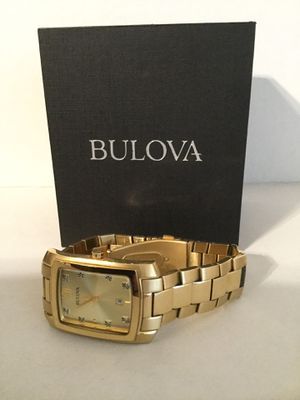 Bulova Gold Tone Watch Perfect Like new condition No box Sorry for Sale in Riverside, CA