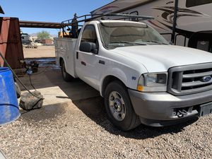 2002 F-250 5.4L Service Truck for Sale in Fort McDowell, AZ