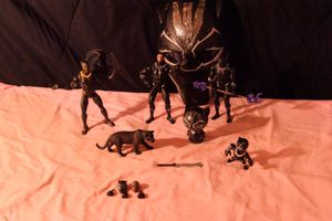 Black Panther Action Figure Toys for Sale in Houston, TX