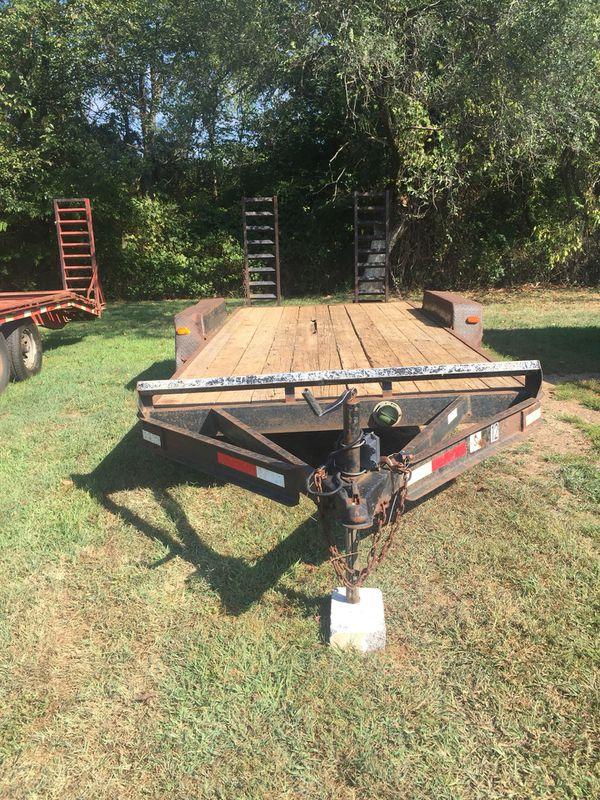 Trailer, equipment, loader, skid steer, skid loader