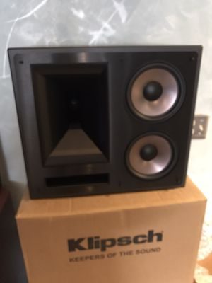 Klipsch Home Theater speakers KL-650-THX (3) front speakers) for Sale in Tampa, FL