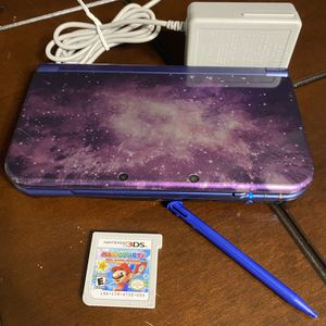 Nintendo 3DS XL Galaxy Style Limited Edition Handheld System for Sale in Houston, TX