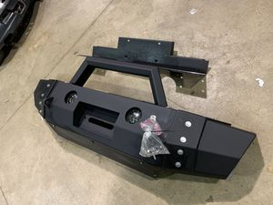 Steel custom Bumper for Jeep Wrangler JK Jl Rubicon Sahara Gladiator with winch plate VPR $899 sale price $499 for Sale in Joliet, IL